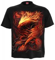 Phoenix Arisen T-Shirt schwarz