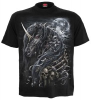 Dark Unicorn T-Shirt schwarz