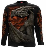 Majestic Draco Longsleeve schwarz