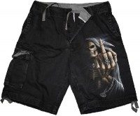 Bone Finger Shorts in Antikoptik