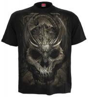 Draco Skull T-Shirt schwarz