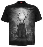 Horned Spirit T-Shirt schwarz