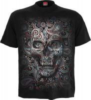 Skull Illusion T-Shirt nur Frontdruck