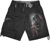 Soul Searcher Shorts im Gebrauchtlook