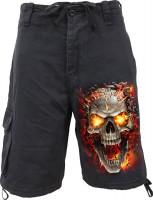 Skull Blast Vintage Shorts
