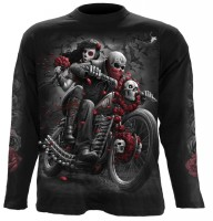 Day of the Death Bikers Longsleeve schwarz