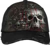 Death Ribs Baseball Cap mit Metallverschluss