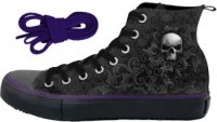 Skull Scroll Sneakers Damen