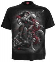 Day of the Death Bikers T-Shirt schwarz