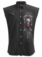 Day of the Death Bikers ärmelloses Workershirt