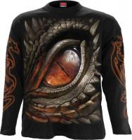 Dragon Eye Longsleeve schwarz