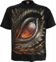 Dragon Eye T-Shirt schwarz