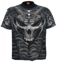 Skull Armour T-Shirt Rundumdruck