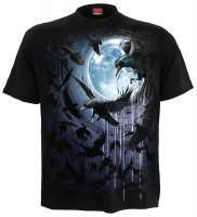 Crow Moon  T-Shirt schwarz