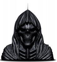 Reaper Skull Duftkerze m Metallskulptur