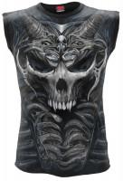 Skull Armour ärmelloses AllOver Herrenshirt