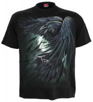 Shadow Raven T-Shirt schwarz