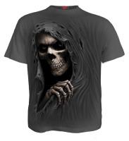 Grim Ripper T-Shirt steingrau