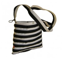 ZIPIT ZA The Fling: Black & White