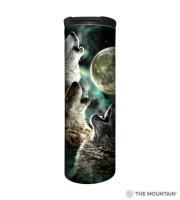 Three Wolf Moon Barista Thermobecher