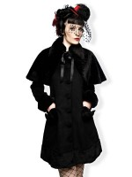 Elegante Winterjacke im Lolita-Style AUSLAUFATIKEL