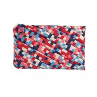 ZIPIT Pixel Jumbo Pouch - Blue and Red