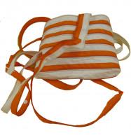 ZA - The Fling: White & Orange