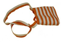 ZIPIT ZA The Fling: White & Orange