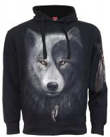 Wolf Chi - Kapuzensweat Seitentaschen