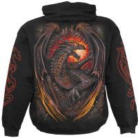 Dragon Furnace - Kapuzensweat schw.