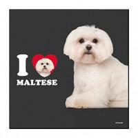 I Love Malteser Öko-Magnet