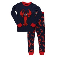 Lobster Langarm Kinderpyjamaset