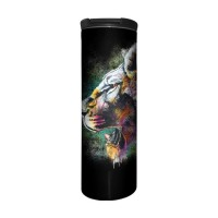 Painted Lion Animal Barista Tumbler Thermobecher