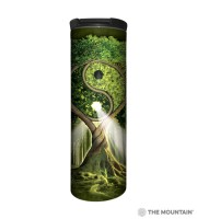 Ying Yang Tree Barista Thermobecher