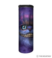 Big Face Cheshire Cat Barista Thermobecher