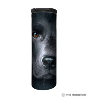 Black Lab Face Barista Thermobecher