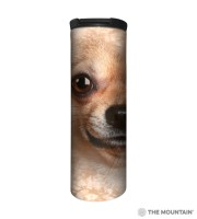 Chihuahua Face Barista Thermobecher