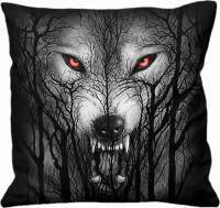 Forest Wolf quadratisches Kissen