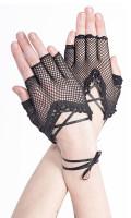 Netzhandschuhe mit Schnürung fürs Handgelenk