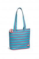 ZIPIT ZBN Medium Tote Bag Blue & Pink