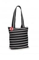 ZIPIT ZBN Medium Tote Bag Black & Silver