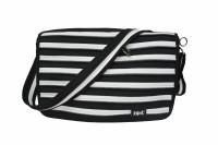 ZIPIT ZCN Messenger Bag Black & White