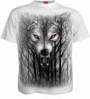 Forest Wolf T-Shirt weiss