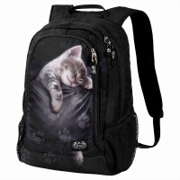 Pocket Kitten Rucksack m Laptoptasche