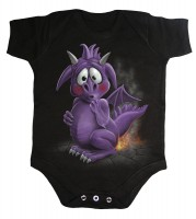 Dragon Relief Babystrampler