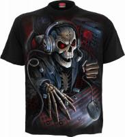 Pc Gamer Kinder T-Shirt schwarz