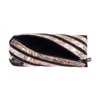 ZIPIT Metallic Pouch - Rose Gold