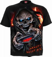 Respawn Kinder T-Shirt schwarz
