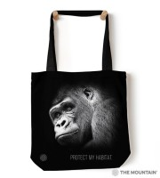 Gorilla Protect My Habitat Tragebeutel