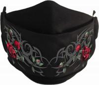 Tribal Rose Gesichtsmaske verstellbar